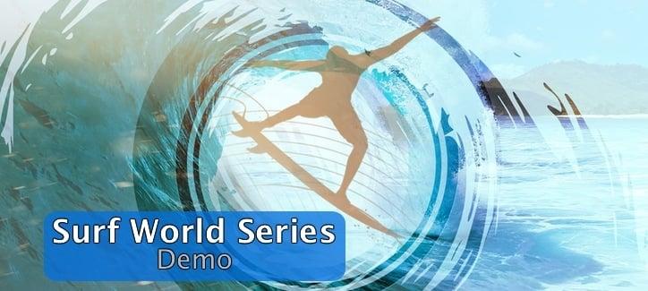 Бесплатная демо игра Surf World Series
