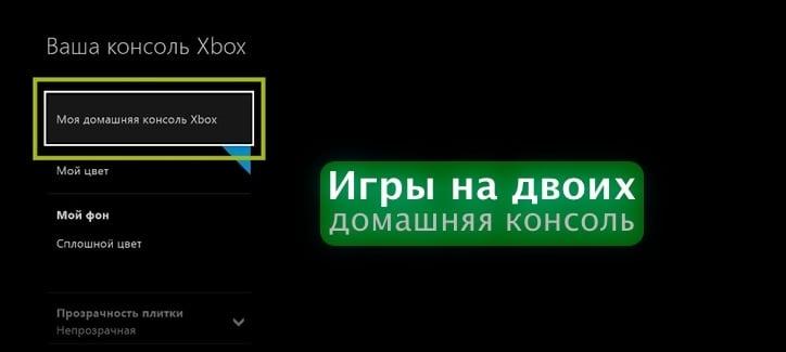 Домашняя консоль Xbox One и покупка игр на двоих