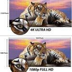 Сравнение UltraHD и FullHD (4k vs 1080)