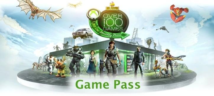 список игр Xbox Game Pass