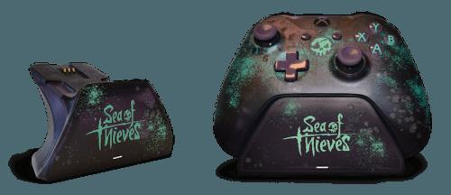 Зарядная подставка для геймпада Xbox One в стиле Sea of Thieves