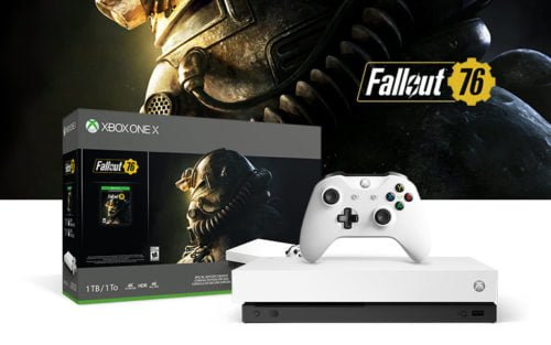 Белая консоль Xbox One X – Robot White Special Edition