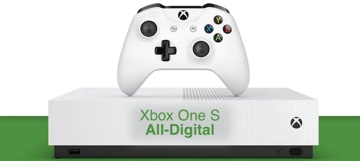 Запуск Xbox One S All Digital ожидается 7 мая этого года
