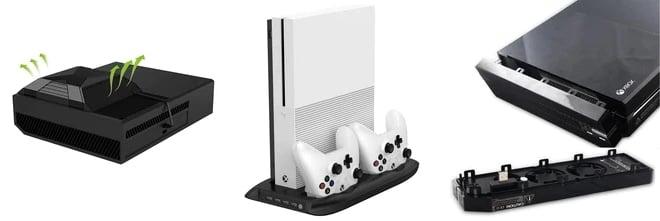 Охлаждающие подставки и насадки для Xbox